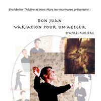 Don Juan Variation pour un acteur  Bayonne