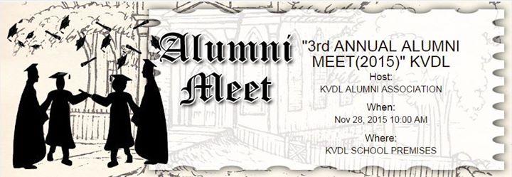 3rd ANNUAL ALUMNI MEET2015 KVDL at Kendriya Vidyalaya Dogra Lines