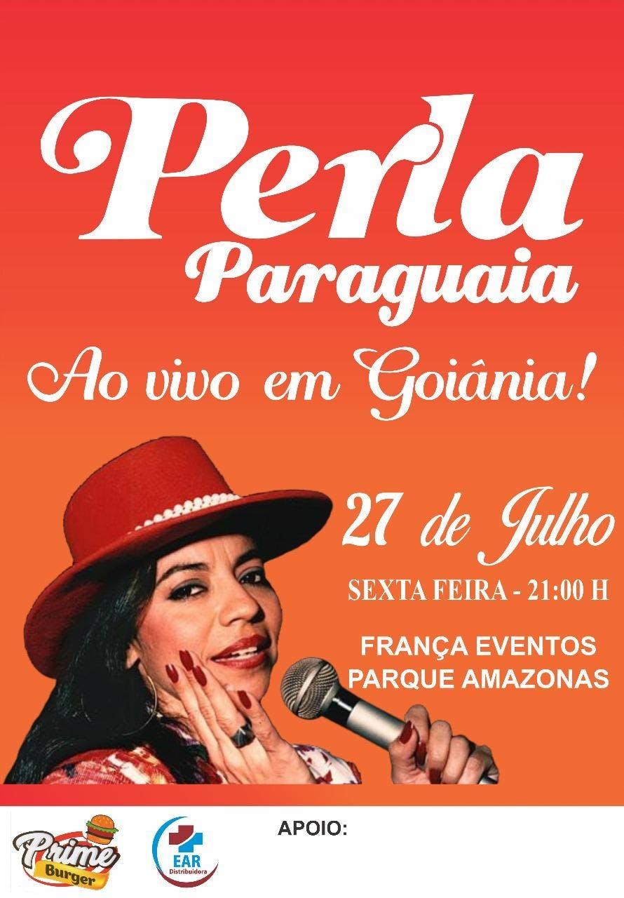 Show da perla paraguaia em Goinia