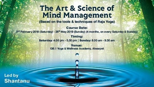 The Art & Science of Mind Management by Shantanu