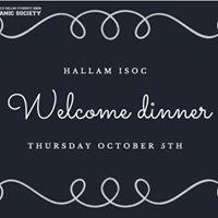 Sheffield Hallam Islamic Society Welcome Dinner