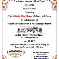 Music In May - Morelli House Tour