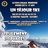 Sjour au ski
