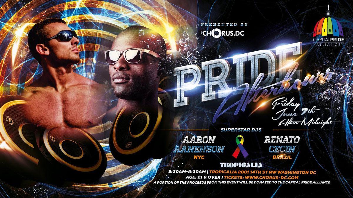 PRIDE AFTERHOURS  DJs AARON AANENSON(NYC) & RENATO CECIN(BRAZIL)