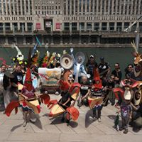 Parade Chicagos RiverWalk with Art Side Out Studio