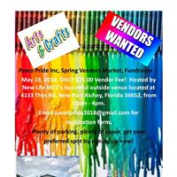 Pasco Pride Inc Spring Vendors Market &amp Fundraiser