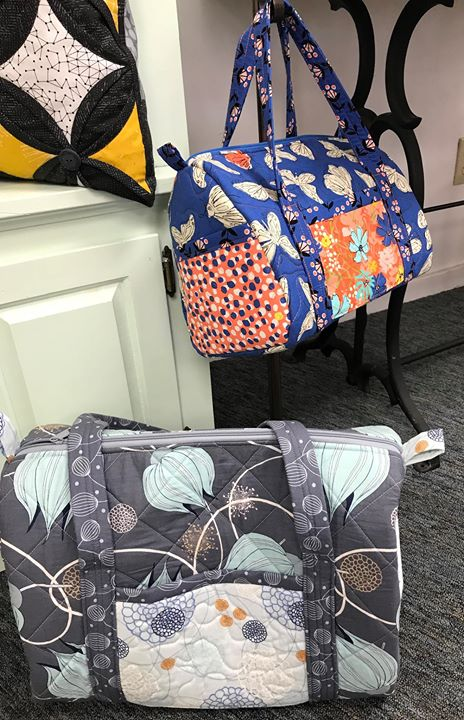 Duffle Bag Class At Quilt N Bee Traverse City