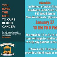 Stem Cell Donation Drive