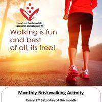 Monthly Briskwalk - 10 Feb 2018