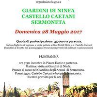 Giardini di Ninfa e Castello Caetani