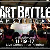 Art Battle Amsterdam - Nov 19 2017