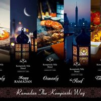 Magical Ramadan at Kempinski Nile Hotel Cairo