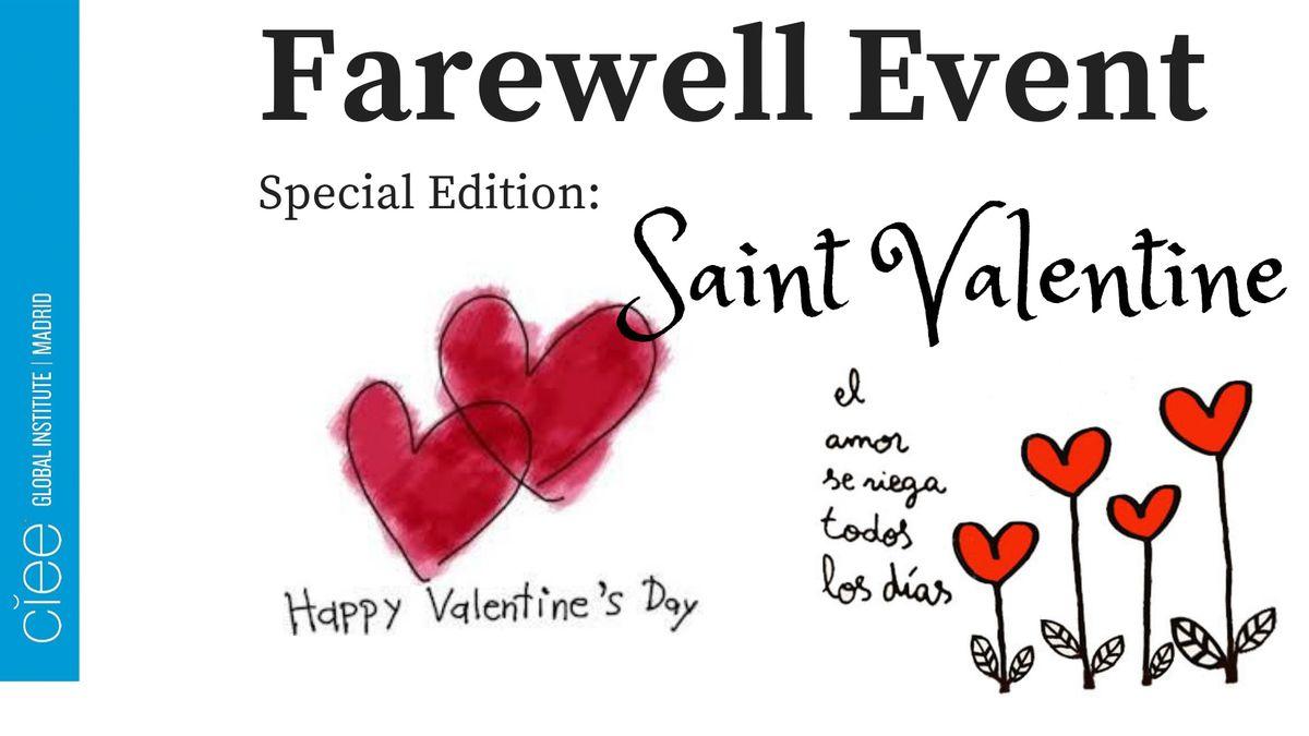 Farewell Event San Valentin