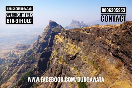 Harishchandragad Trek 8th-9th Dec