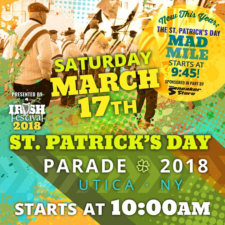 2018 Uticas St. Patricks Day Parade