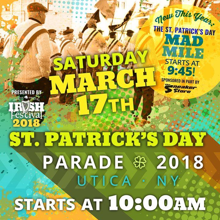2018 Uticas St. Patricks Day Parade