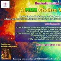 A Free Chakra workshop with Aalkkah Rajvansh on 28th July