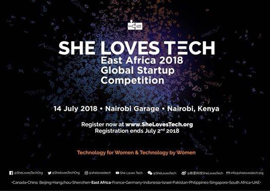 She Loves Tech East Africa 2018