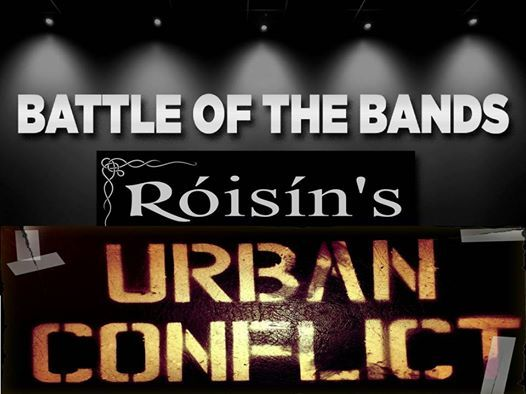 Battle of the Bands Urban Conflict Roisins Derry