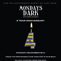 Mondays Dark 4 Year Anniversary Event