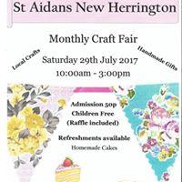 St Aidans new Herrington craft fair