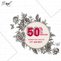 Flat 50% OFF on our Services - Inorbit Malad