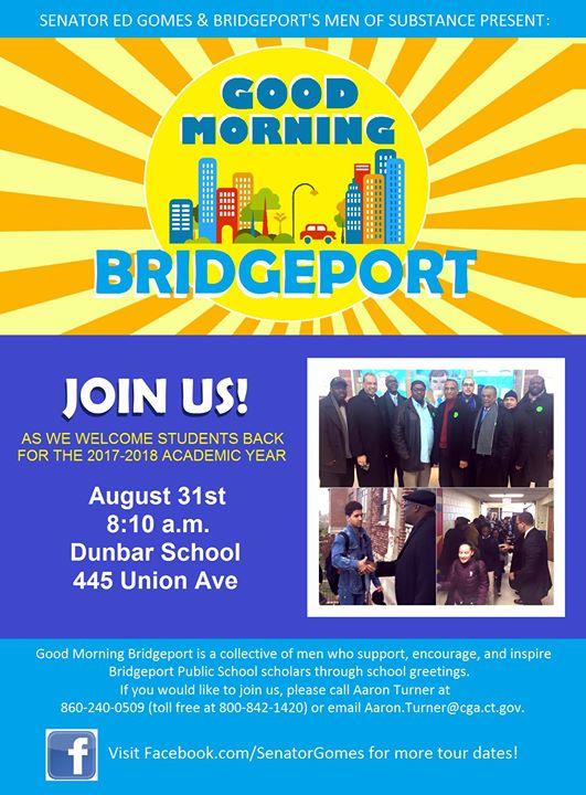 Good morning bridgeport school greeting at 445 union ave good morning bridgeport school greeting m4hsunfo