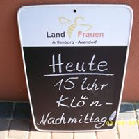 Klnnachmittag im Biergarten  LFV Artlenburg-Avendorf