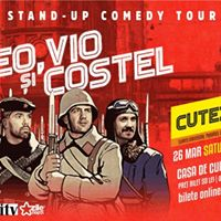 Stand Up show cu TeoVio si Costel on tourSatu Mare
