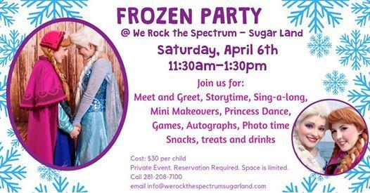 Its a Frozen Party