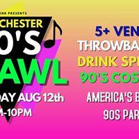 Bring Back The 90s Pub Crawl - Westchester