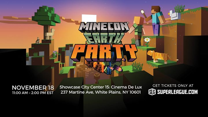 Minecon Earth Party New York At City Center 15 Cinema De Lux