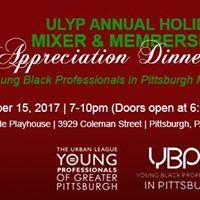 ULYP Annual Holiday Mixer &amp Membership Appreciation Dinner