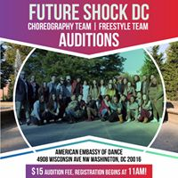 Future Shock DC 2017-2018 Auditions
