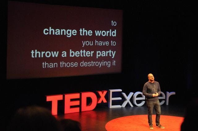 TEDxExeter 2019 LIVE at Exeter Northcott Theatre