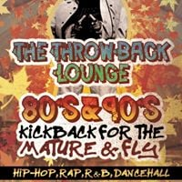 The Throwback Lounge- Free 80s &amp 90s Kickback