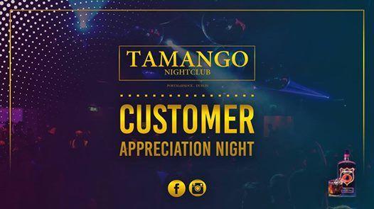 Customer Apppreciation Night at Tamango Nightclub - Jan 26th