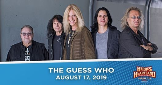 The Guess Who on the Indiana State Fair Free Stage at