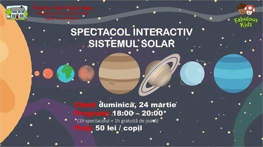 Spectacol interactiv Sistemul Solar