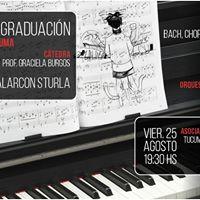 Concierto de Graduacin de Piano de Mariano Alarcn Sturla
