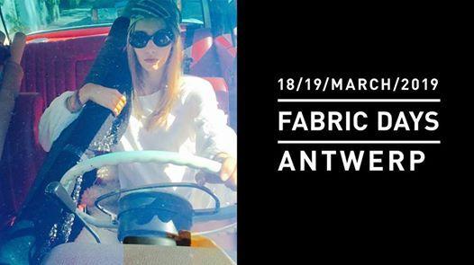 Fabric Days Antwerp