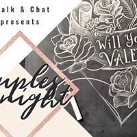 Couples Chalk and Chat Chalk Art Class