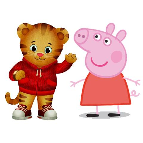 Daniel Tiger Amp Peppa Pig Character Appearance At Safari