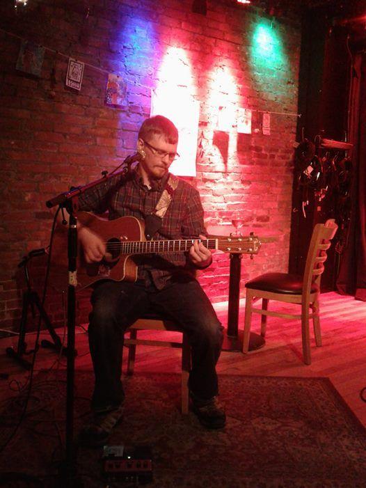 Justin Sawyer at Radio Bean