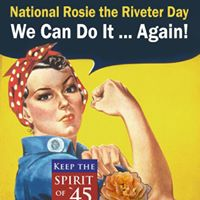 Rosie the Riveter Day Ceremony
