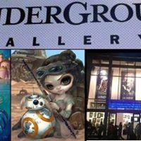 Jasmine Becket-Griffith Takeover at Disneys WonderGround Gallery
