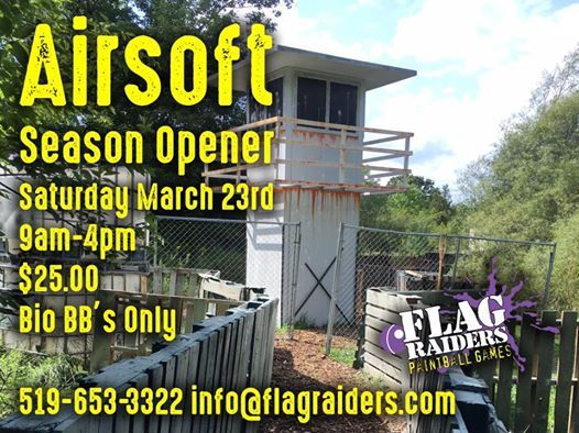 Airsoft ONLY Season Opener