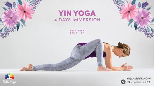 Yalla 4-Day Yin Yoga Immersion this April with Rula
