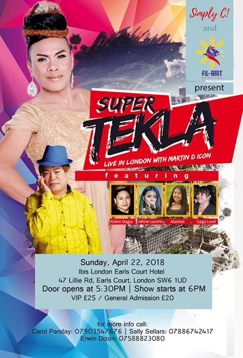 Super Tekla with Martin D Icon Live in London
