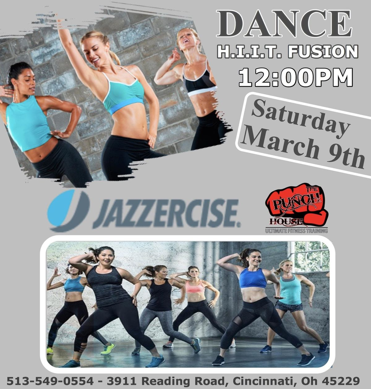 Dance HIIT Fusion By Jazzercise